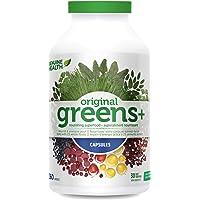Genuine Health Greens+ Original, Green Superfood Powder, Non GMO, Natural, 360 Count