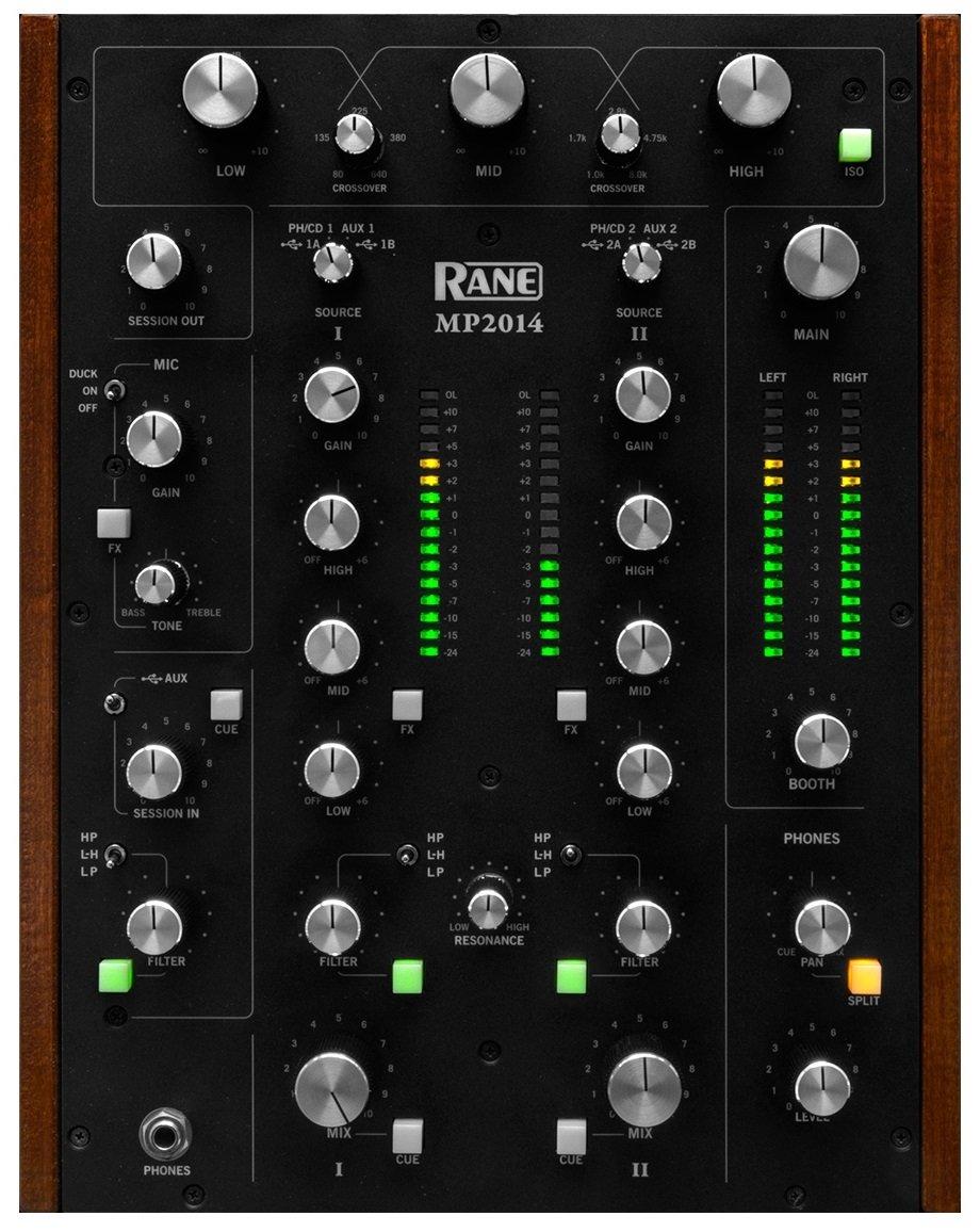 Ranas mp2014 Mezclas DJ a puños 2 canales RIAA 2 USB Traktor ...