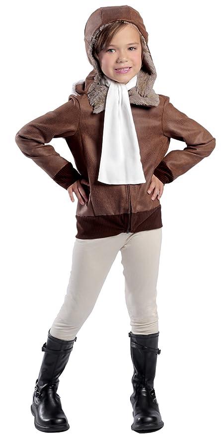 Brand New American Aviator Child Costume