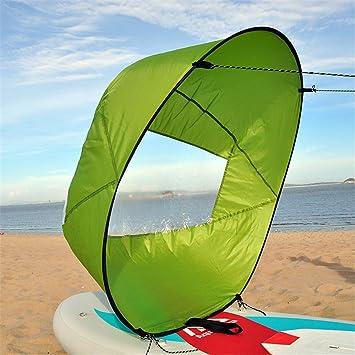 YL Kit De Vela De Viento De Sotavento 42 Pulgadas Accesorios De Canoa De Kayak,