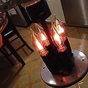 Amazon Com Flicker Flame Light Bulb Dances With A