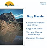 Roy Harris: Concerto for Piano & Strings, Elegy