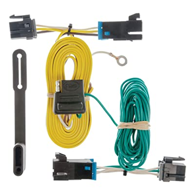 CURT 55540 Vehicle-Side Custom 4-Pin Trailer Wiring Harness for Select Chevrolet Express, GMC Savana: Automotive