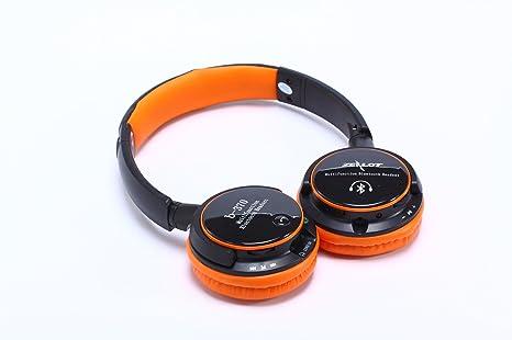 timly Zealot B370 universal estéreo inalámbrico Bluetooth auriculares auriculares de diadema manos libres micrófono tarjeta tf