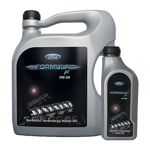 2 opinioni per Olio motore Ford Formula F 5W-30 Synthetic Technology 5W30 6 L