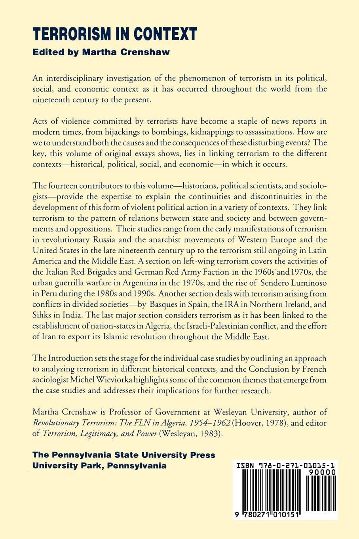 revolutionary terrorism essay