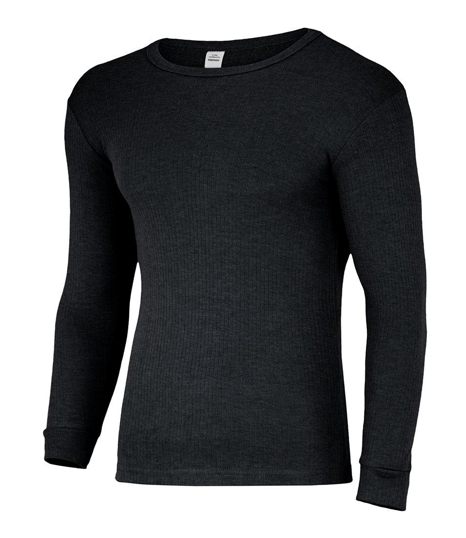 Herren Thermo Unterhemd - Langarm mit Innenfleece