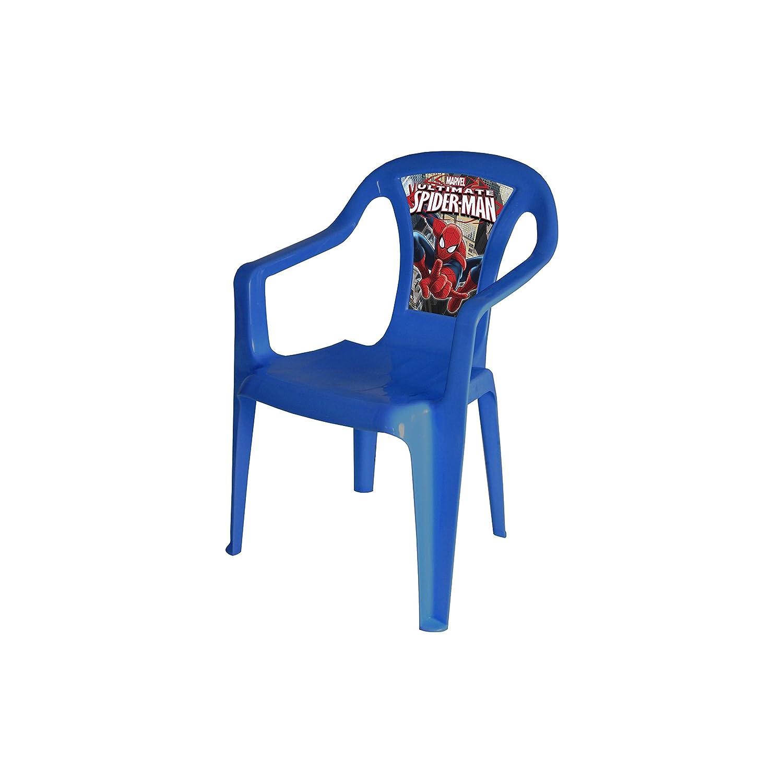 Sedia plastico con schienale Spiderman