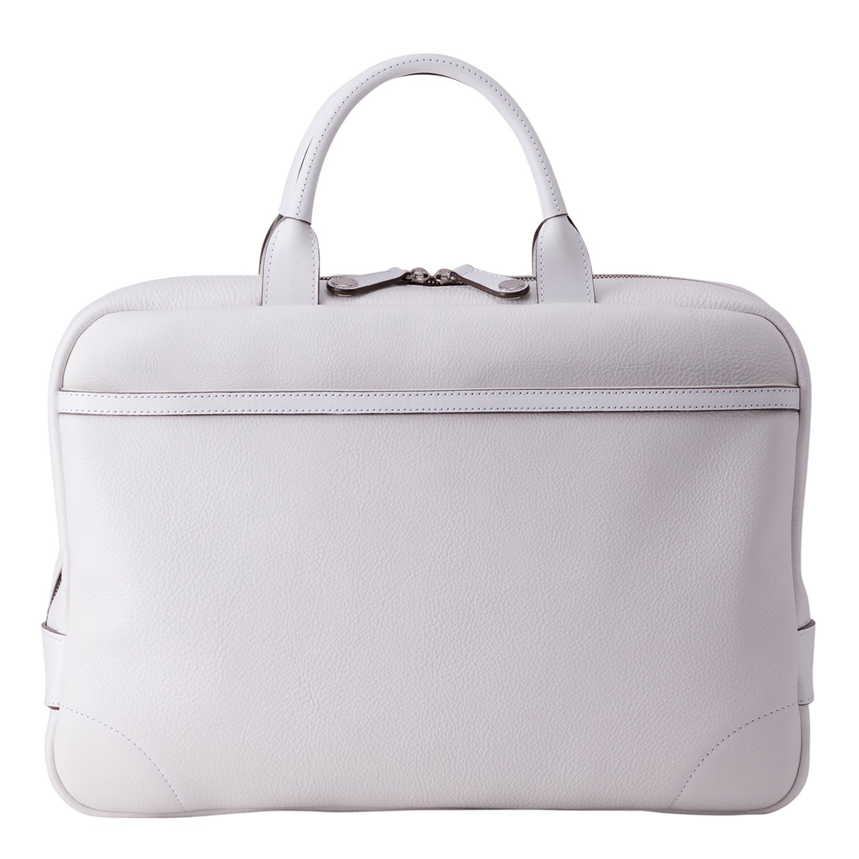 [クリーザン] ブリーフケース 豊岡鞄 ビジネス 牛革 ホワイト ジェッター CJTB-010 B07919QRZG