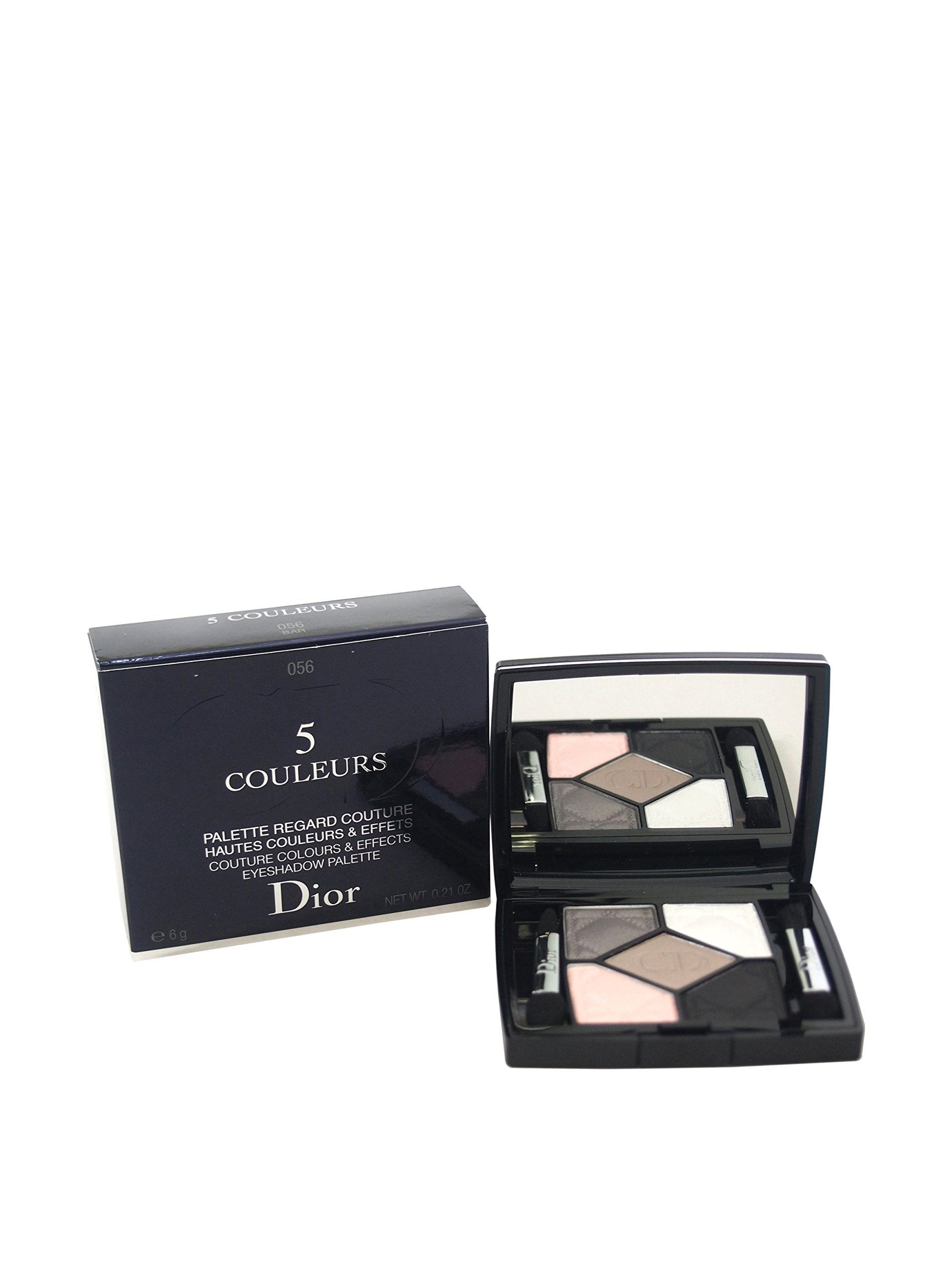 Christian Dior 5 Couleurs Couture Colors and Effects Eye Shadow, Palette No. 056 Bar, 0.21 Ounce
