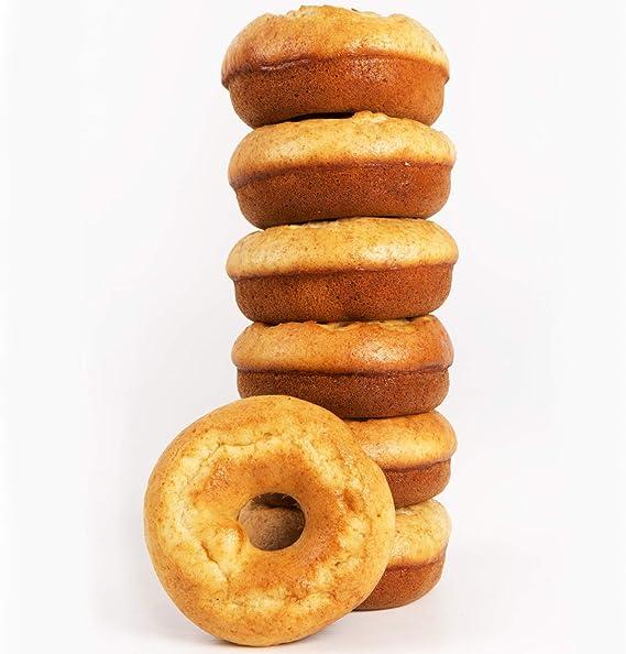 Rosquilla Tipo Donut Saludable Siempre Tiernas Donnut - Bolleria Artesanal 100% Original Alto en Proteinas Sin Colesterol - Fitness Healthy (ZANAHORIA, 21 uni): Amazon.es: Alimentación y bebidas