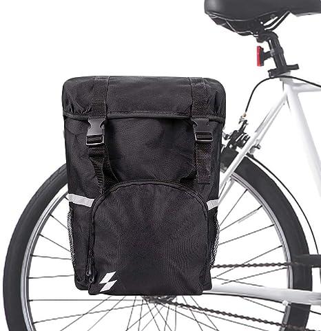 Hebey Trunk Bag Bicicleta Alforjas Pack Ciclismo Equipaje Accesorios Impermeable Asiento Trasero Pannier Bag: Amazon.es: Deportes y aire libre