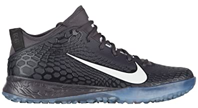 buy popular 8b09d 3c3b9 Nike Men s Force Zoom Trout 5 Turf Baseball Trainers (7, Black White)