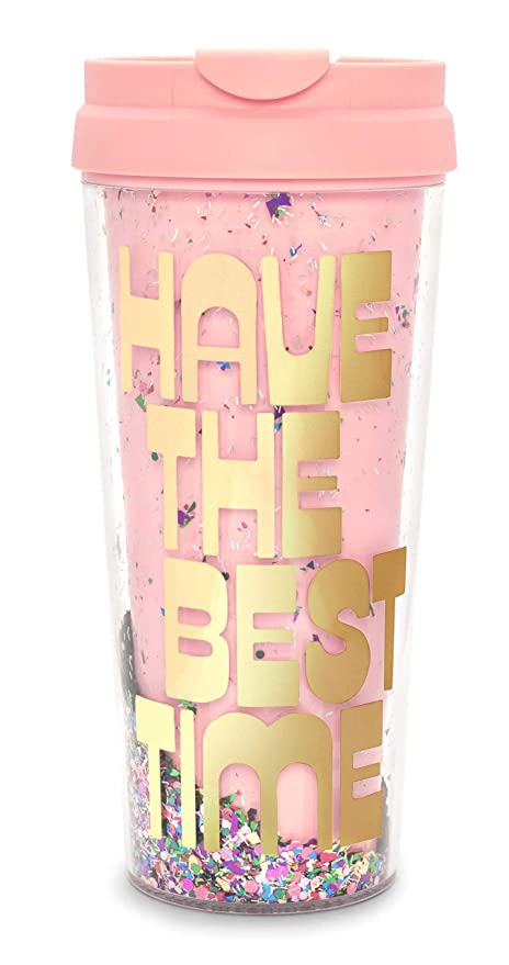 Cup16 Wall Travel The Hot Timeconfetti Bando Insulated Stuff Mugtea Coffee Sayings Best Double OuncesHave Thermal 29WEDYHI
