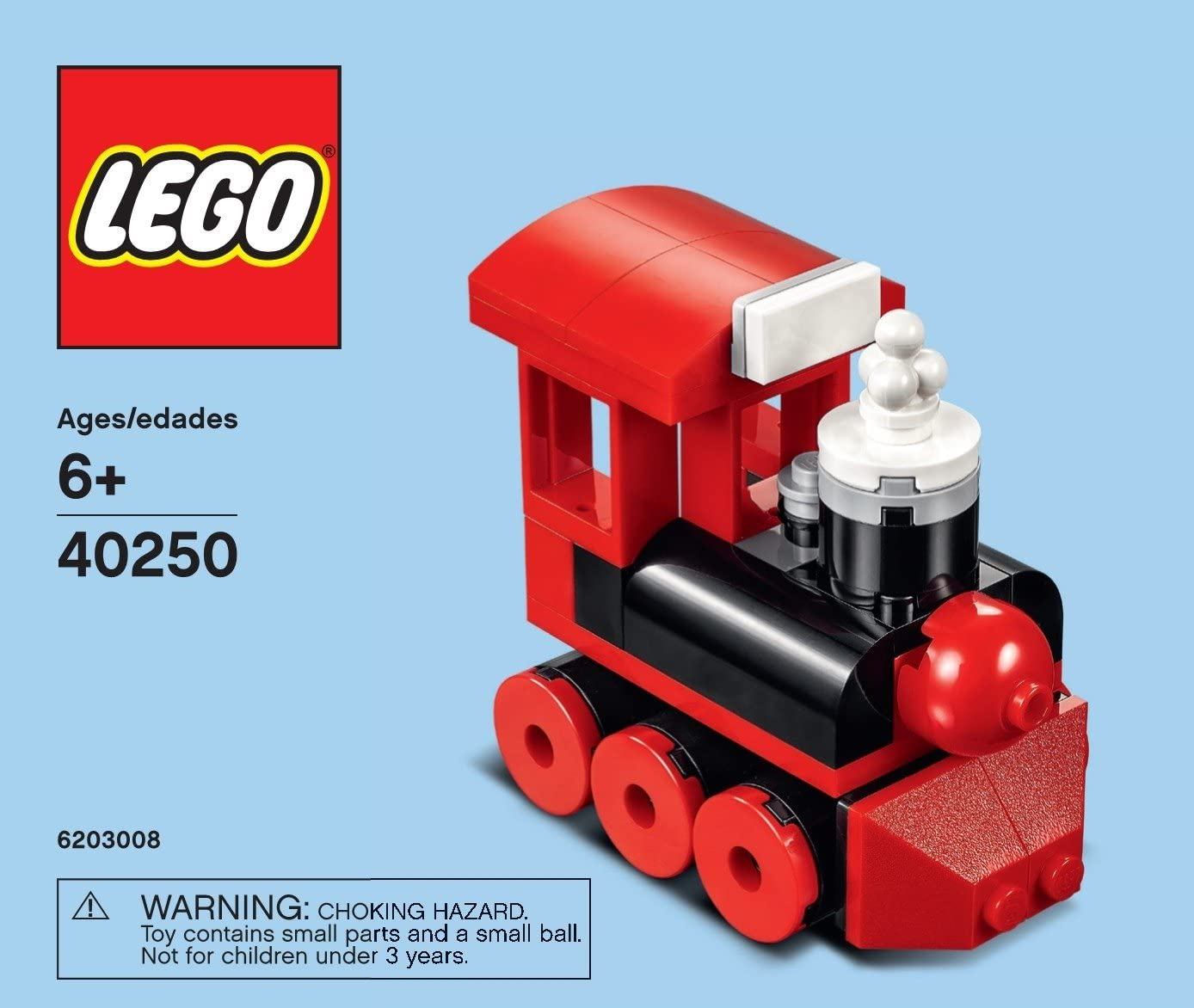 LEGO 40250 Steam Locomotive Train Monthly Mini Build Polybag Set