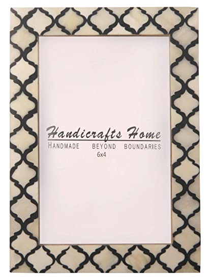 Amazon Com Handicrafts Home 4x6 Picture Photo Frame Moorish Damask
