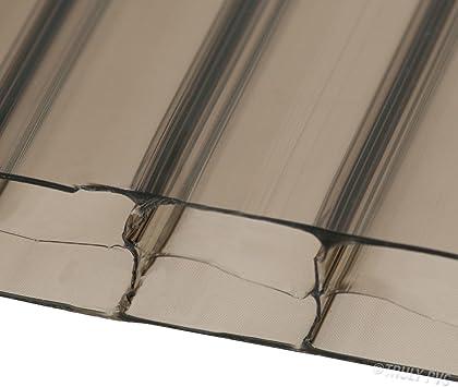 16 mm de bronce 1000 mm de ancho x hoja de policarbonato ...