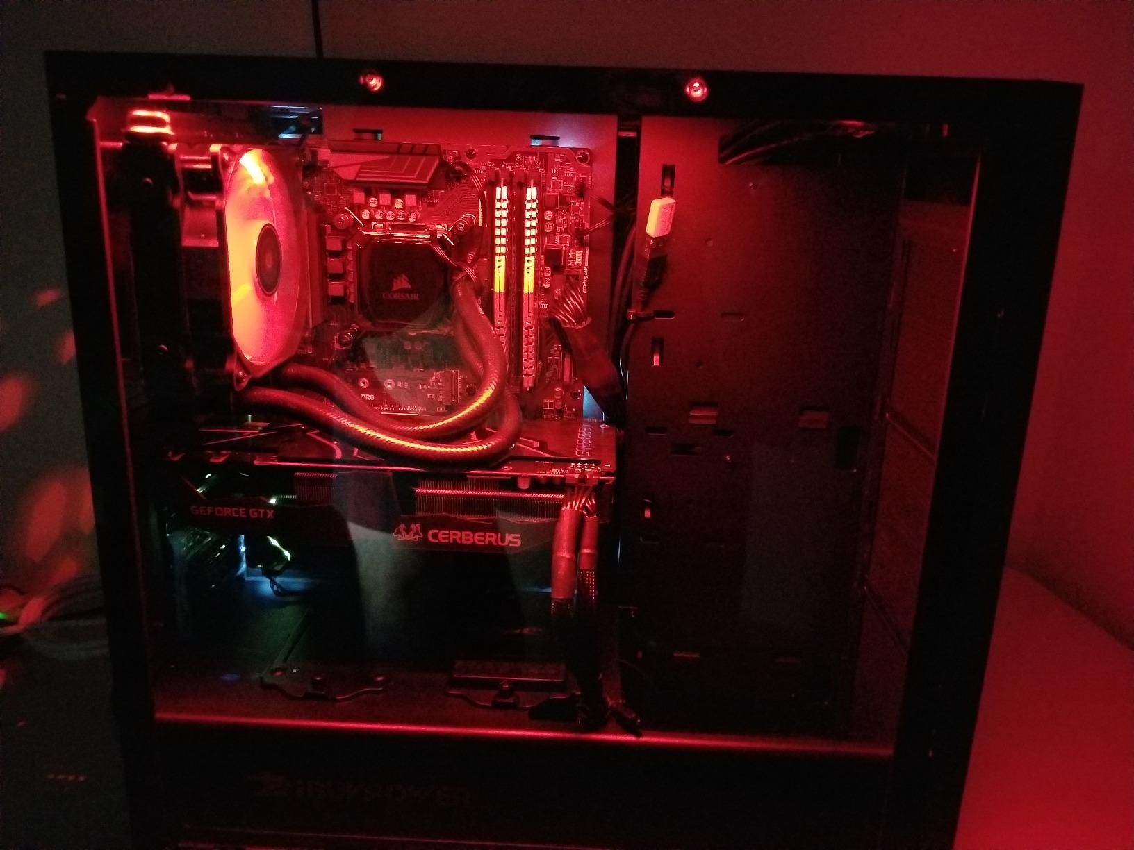 Best gaming computer-iBUYPOWER Gaming PC Desktop i7-8700K 6-Core 3.7 GHz