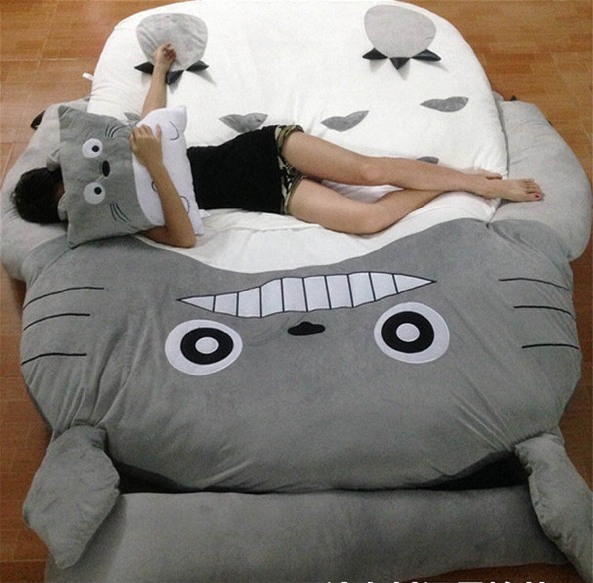 HOT SALE Children's and Adult Totoro Design Big Sofa Totoro Bed Mattress Sleeping Bag Mattress by VU ROUL (Image #1)