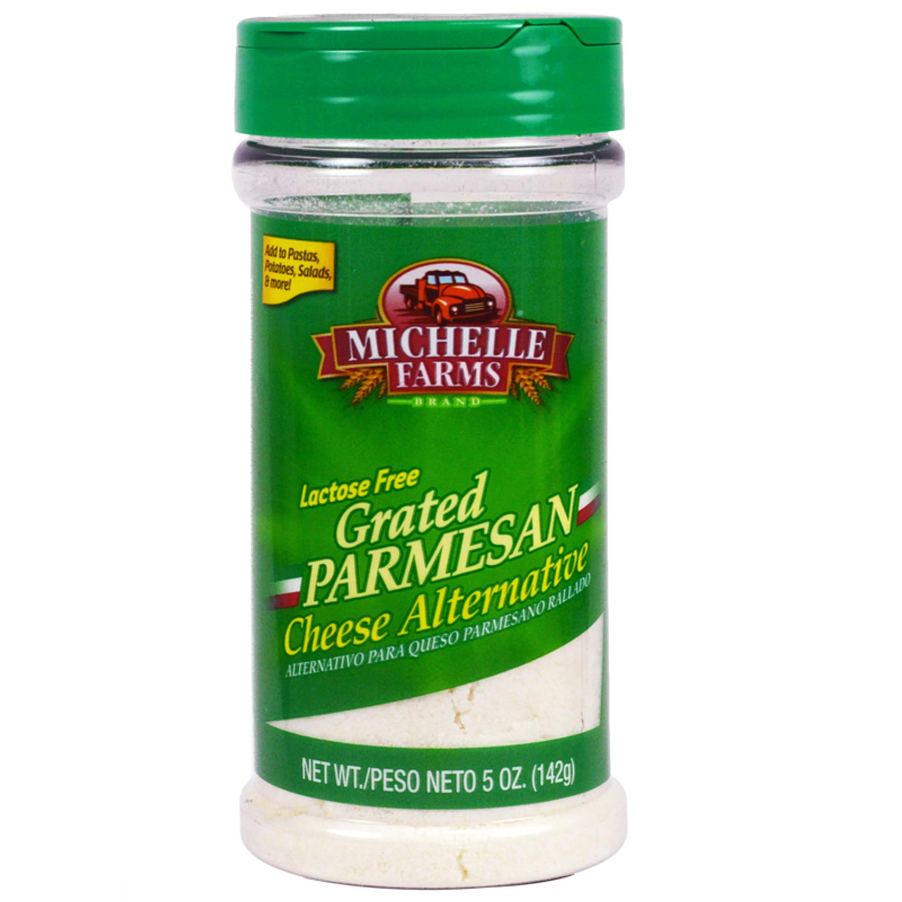 (Pack of 12) Mitchelle Farms Parmesan Cheese Grated, 5oz