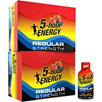 5-hour ENERGY Shot, Berry, 24Count 1.93 oz Bottles