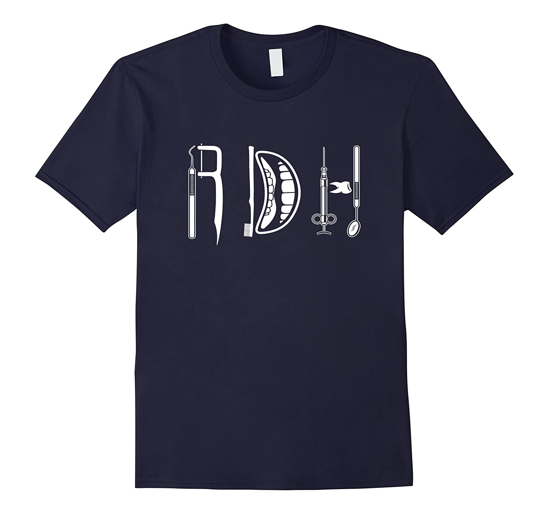 Funny Dental Hygienist Graphic T-Shirt-FL