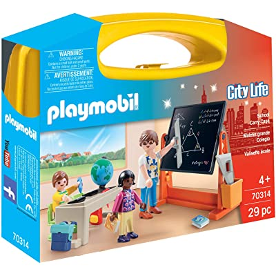 PLAYMOBIL School Carry Case: Toys & Games