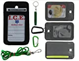 EDOG I.C.E. Active Senior Medical Alert Neck Wallet