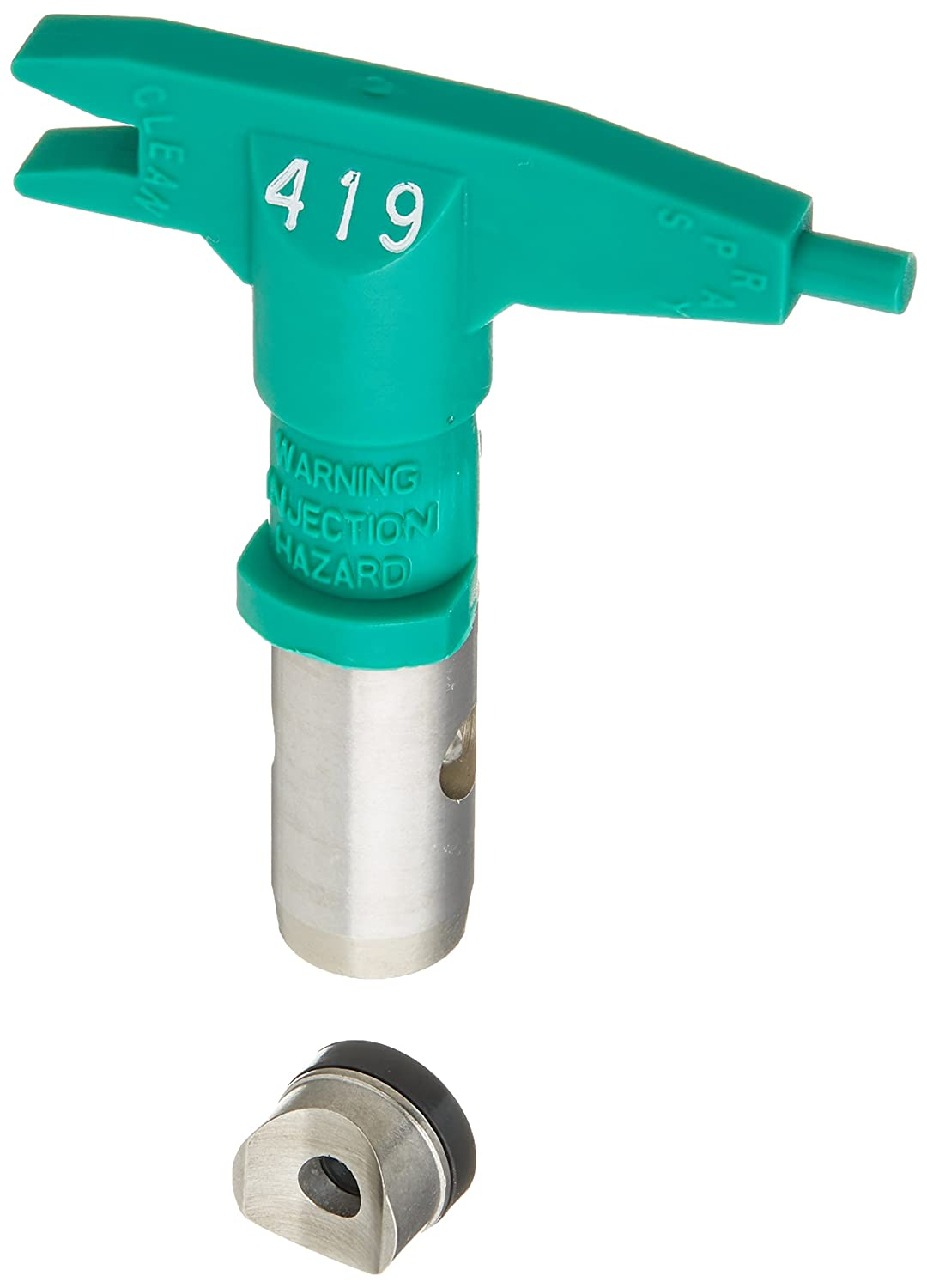 Green Paint Sundries Solutions 69-419 ASM Company 0.019-Inch Reversible Universal Spray Tip