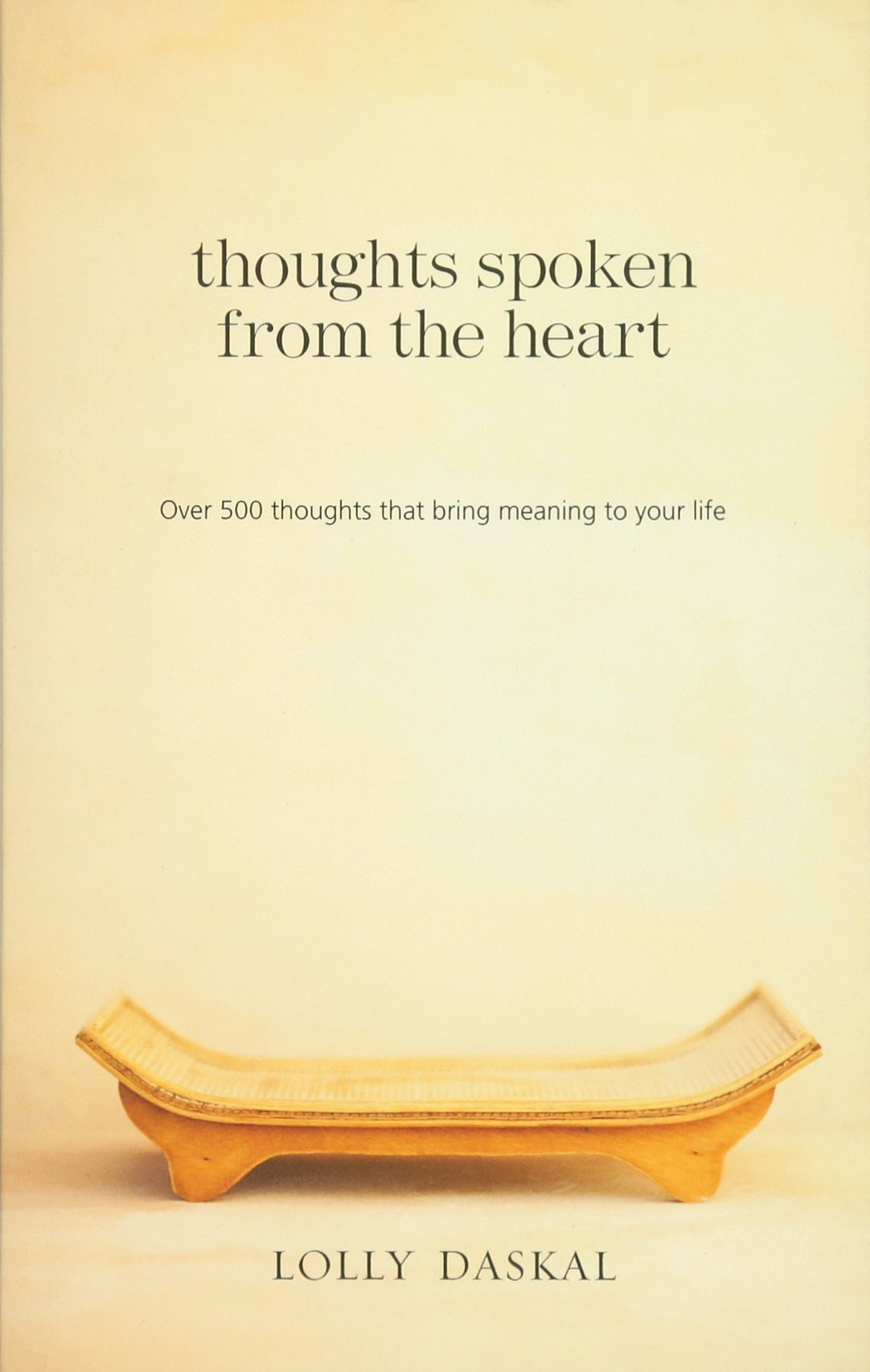 Download Thoughts Spoken From the Heart: Over 500 thoughts that bring meaning to your life ebook