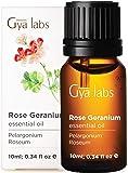 Rose Geranium Essential Oil - Relax & Renew Skin Beautiful Balance (10ml)- 100% Pure Therapeutic Grade Rose Geranium Oil