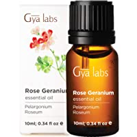 Gya Labs Rose Geranium Essential Oil for Skin Care, Stress Relief & Relaxation -...