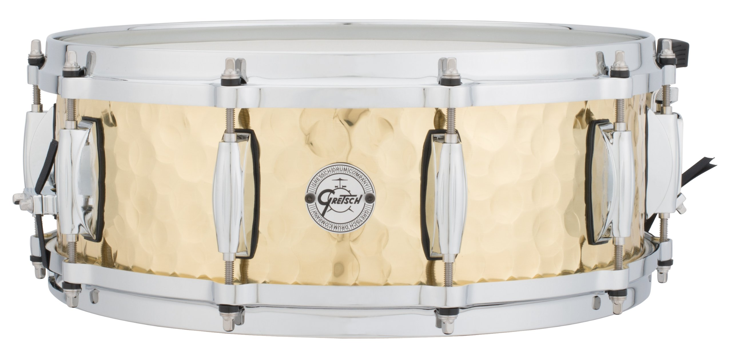 Gretsch Drums Full Range Series S1-0514-BRH 5x14'' Hammered Brass Snare Drum by Gretsch Drums