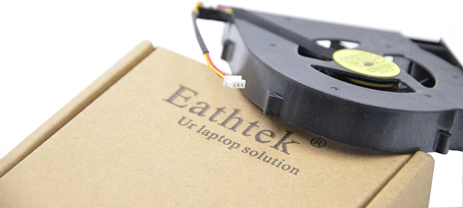 Compatible with Part Number 534676-001 532605-001 534684-001 Eathtek Replacement CPU Cooling Fan for Hp Compaq G61 G71 Cq61 Cq71 Cq61-100 Series