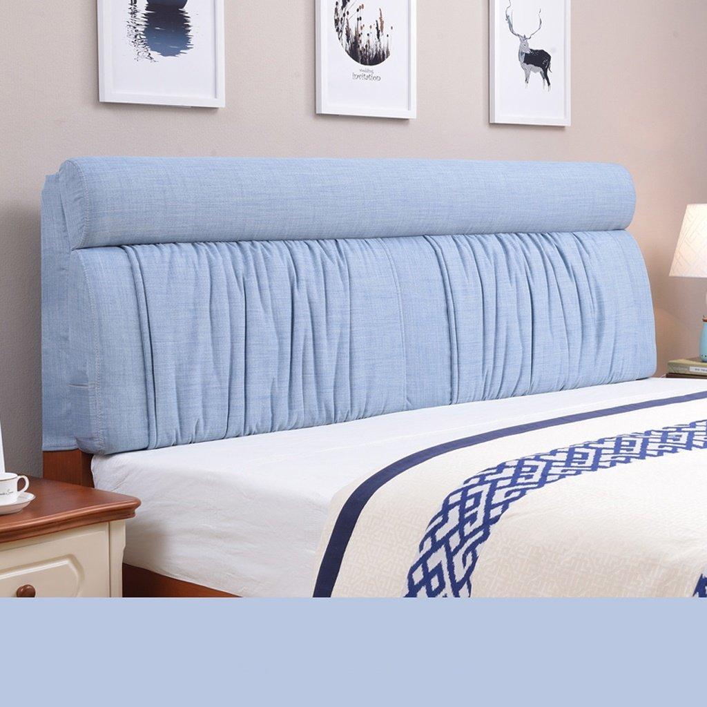 JJJJD 背もたれの枕/腰の枕/クッションのソファーベッドの休息枕を読む贅沢な背中のサポートの枕、リーディングのためのくさび枕60 * 155cm (色 : D) B07PV71S3J B B