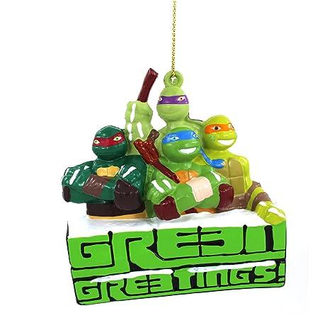 Nickelodeon TMNT Tortugas Ninja Kurt Adler Adorno Set en ...