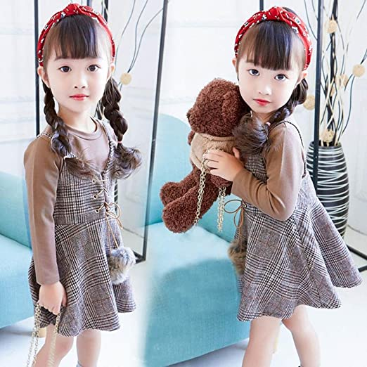 Amazon.com: TiTCool Girls Dress Outfits Clothes Warm T-Shirt Tops+ ...