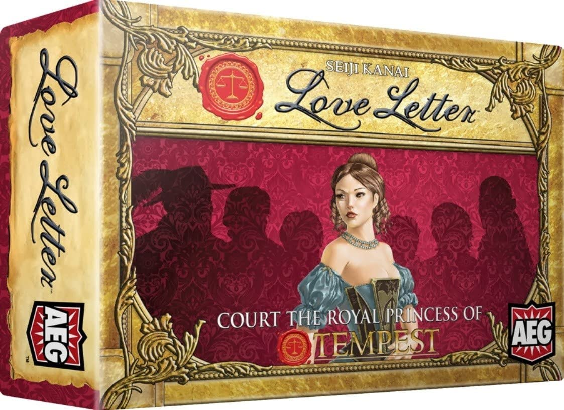 Alderac Entertainment Group 5109 Love Letter Boxed Edition