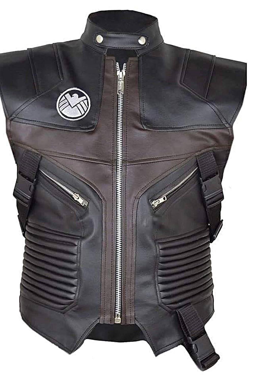 Avengers Jeremy Brown Hawkeye Leather Vest
