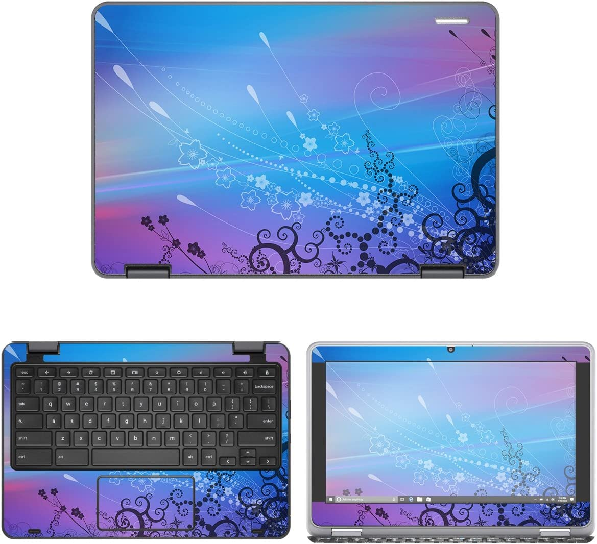 decalrus - Protective Decal Skin Sticker for Dell ChromeBook 11 3189, 3181 (11.6