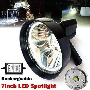 12V 4 LED Spot Head Light Lamp Motor Bike Car Motorcycle Truck+Light Clip FL