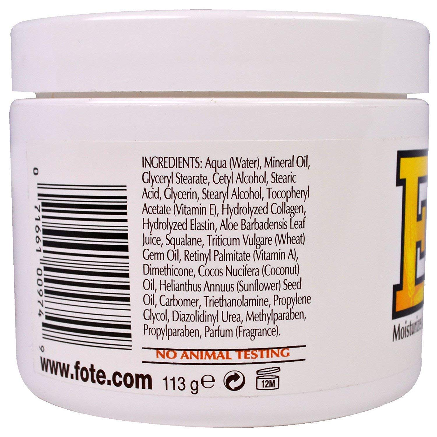 Fruit Of The Earth Fruit Of The Earth Vitamin E Skin Care Cream, 4 oz by Chom