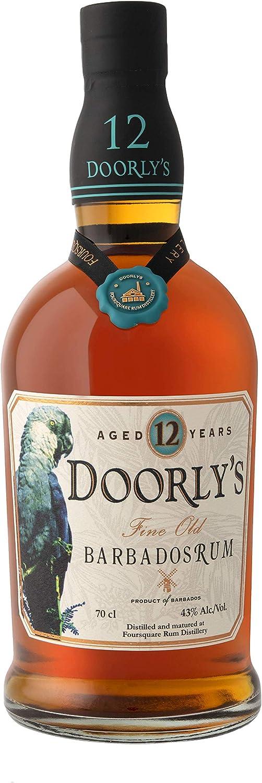 Doorlys DoorlyS 12 Years Old Fine Old Barbados Rum 40% Vol. 0,7L In Giftbox - 700 ml