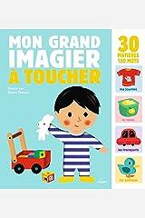 Mon grand imagier à toucher (French Edition) Paperback