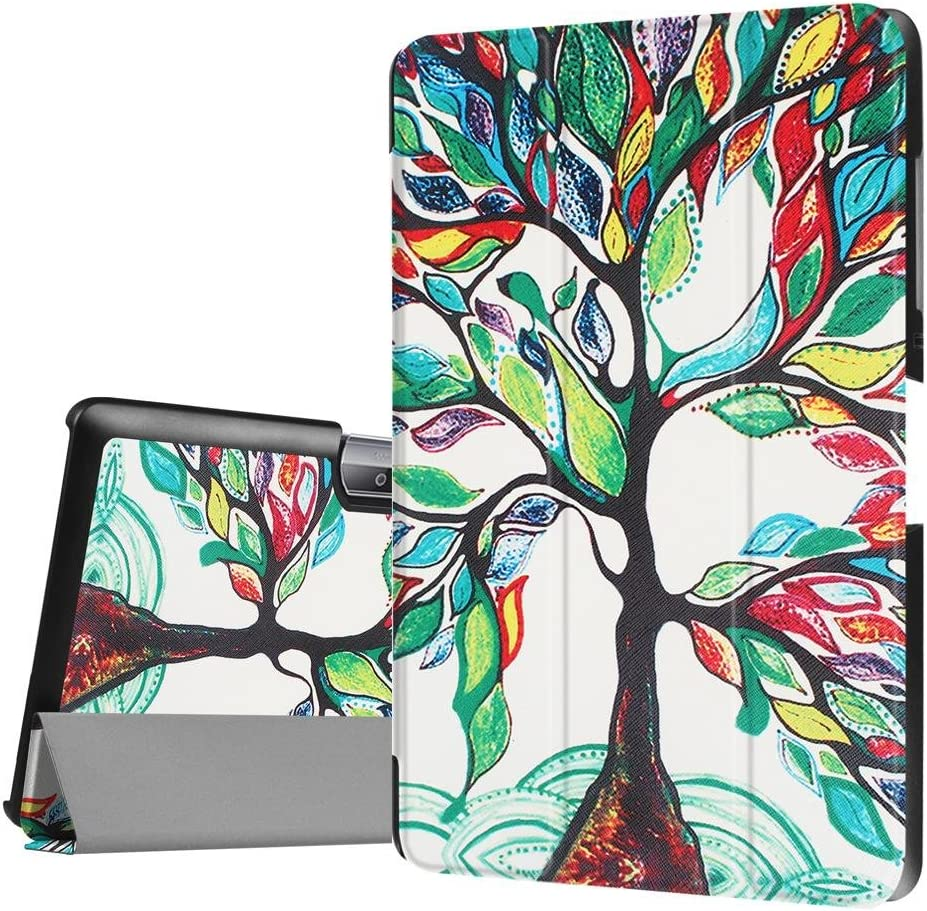 Acer Iconia One 10 B3-A30 Case, Case for Acer Iconia 10 inch,Acer Iconia Tab 10 A3-A40 Cover,Soft Slim Cover 3-Folding Case for Acer Iconia One 10 B3-A30 Folding Case with Stand Features,Love Tree