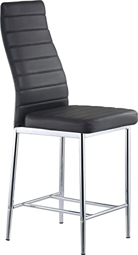 Global Furniture Bar Stool, Black