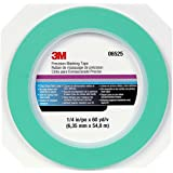 "3M 06525 1/4"" x 60 Yard Precision Masking Tape"