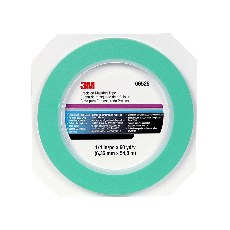 "3M Precision Masking tape, 06525, 1/4"" x 60 yds"