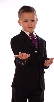 Los juegos de Negro y traje de boda púrpura muchacho de la página ...