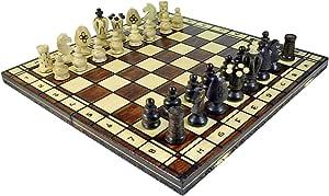 Wegiel Royal 48 European Wooden Handmade International Chess Set